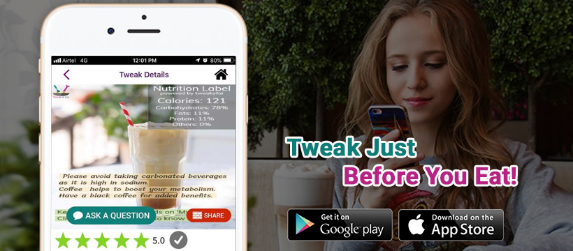 Tweat & Eat - a weight-loss app for all shapes and occasions